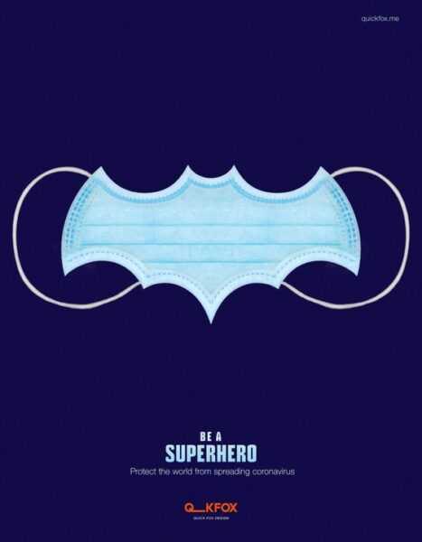 superhero wear a mask