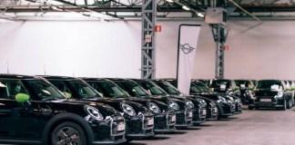 Largest MINI Cooper SE Fleet In Europe-Brand Spur Nigeria