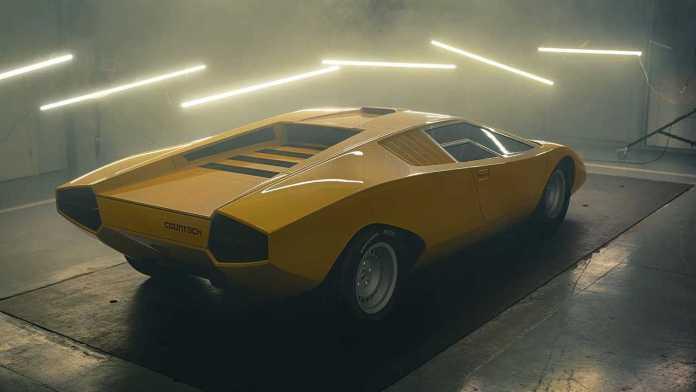 Lamborghini Just Recreated The Original Countach Prototype