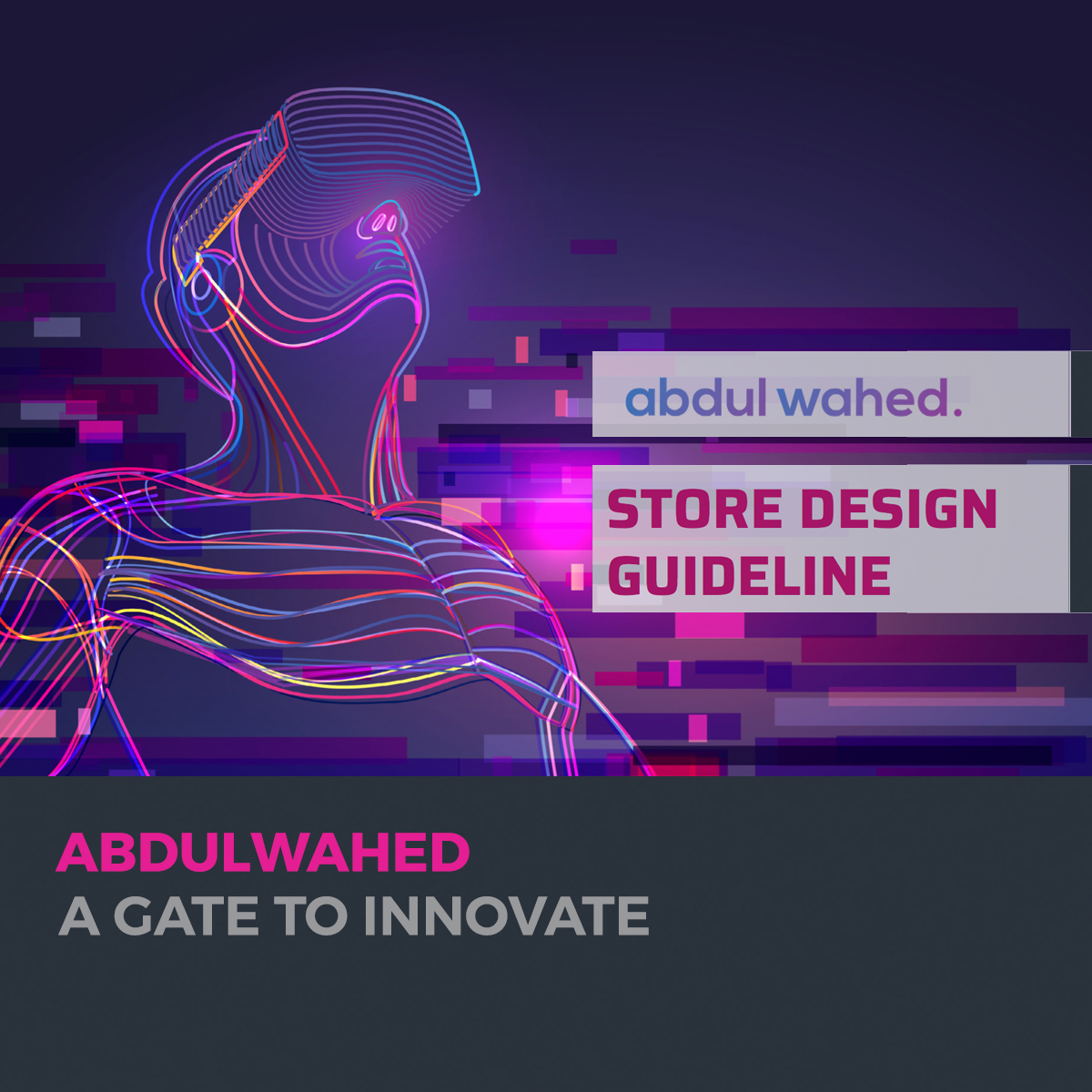 abdulwahed electronics store design and branding
