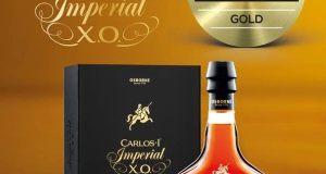 Carlos I Imperial, medalla de oro World Spirits Award 2017 al mejor brandy