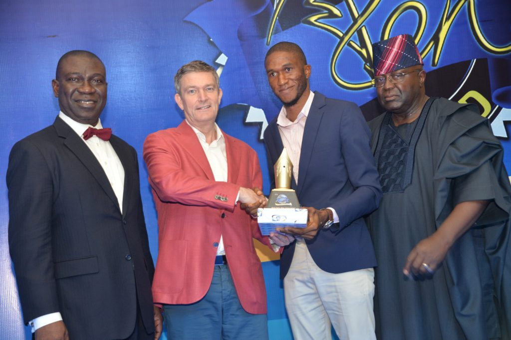 2016 -Nigerian -Breweries- Golden -Pen -Award-winner