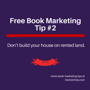 Free Book Marketing Tip #2