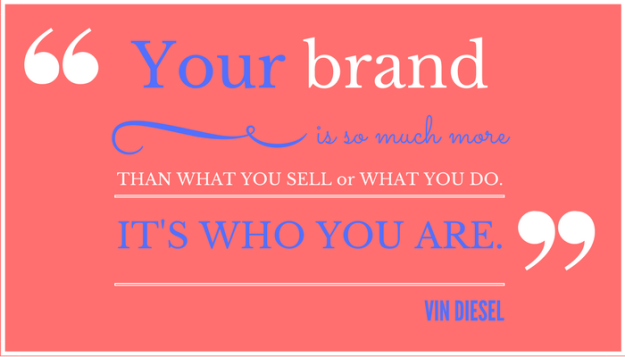 Vin Diesel brand quotation