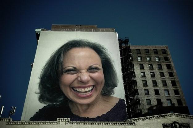 Judy M. Baker Billboard
