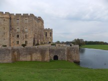 Raby Castle and lower pond