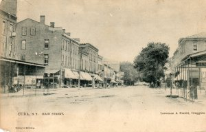 View of Main Street, Cuba NY, 1908.