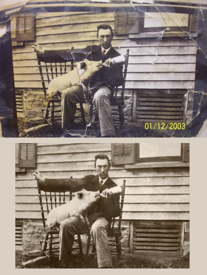 John C Smith before and after