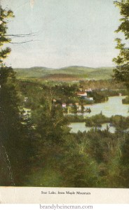 Star Lake from Maple Mountain Adirondacks New York 1911