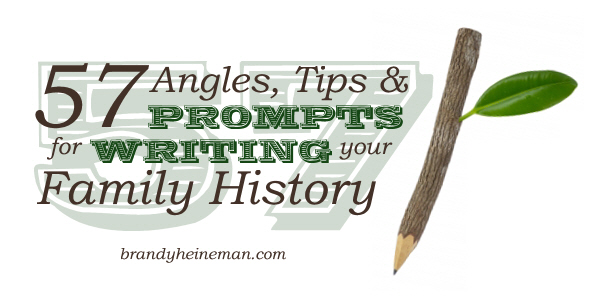 writing your family history-000