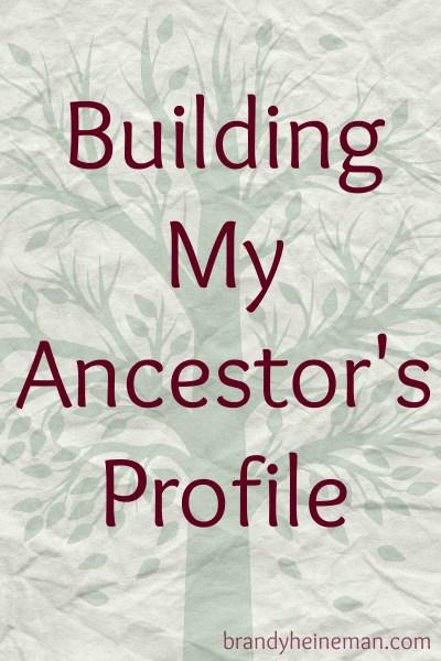 building an ancestor profile