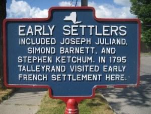 Early Settlers (Greene, Chenango, NY, USA)