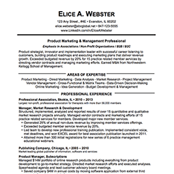 marketing director resume cv marketing officer market management