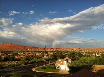 Saint George... don't miss the rainbow!