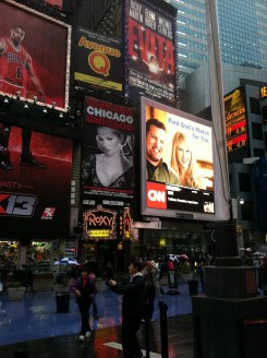 Broadway & Times Square, NYC