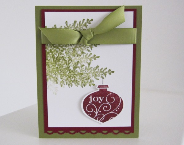 Stampin Up Christmas Cards