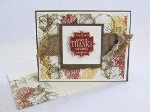 Stampin Up Truly Grateful   Video Tutorial