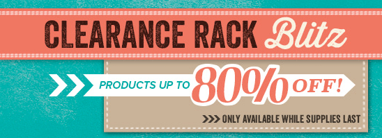 Stampin Up CLEARANCE RACK UP TO 80% OFF!!!