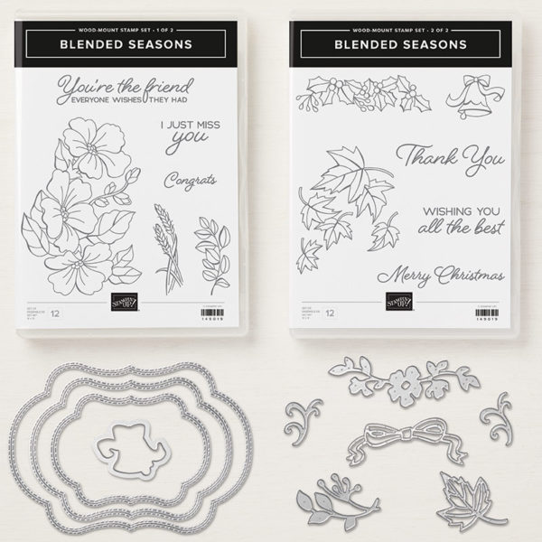 Stampin Up Color Your Season Bundle Post By