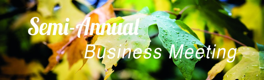 Semi-Annual Business Meeting Header