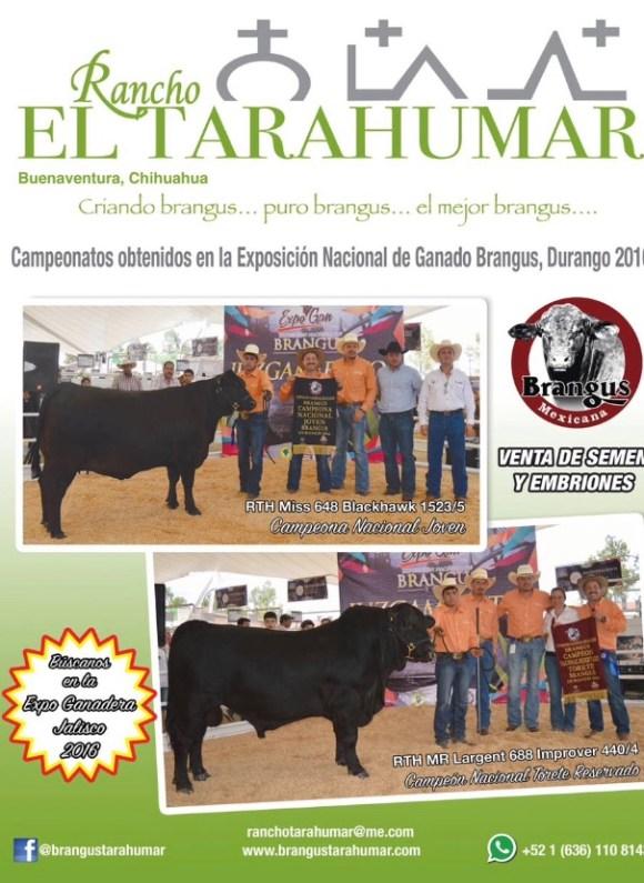 anuncio el tarahumar revista el ganadero sept 2016