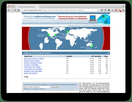 Screenshot Server Performance