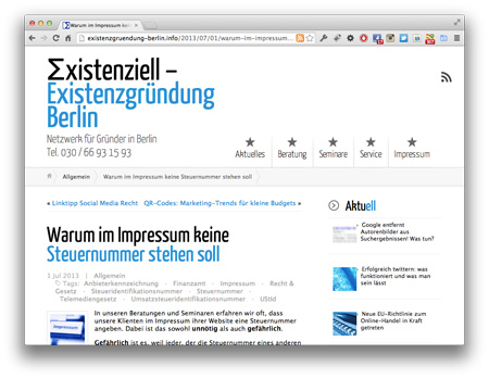 Screenshot_SteuernummerNichtInsImpressum