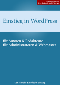 "Cover ""Einstieg in WordPress"""