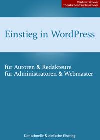 """Cover """"Einstieg in WordPress"""""""