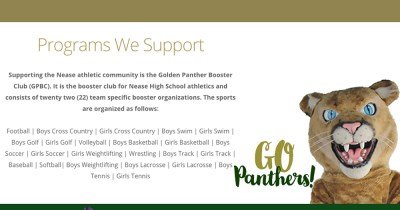 Golden Panther Booster Club