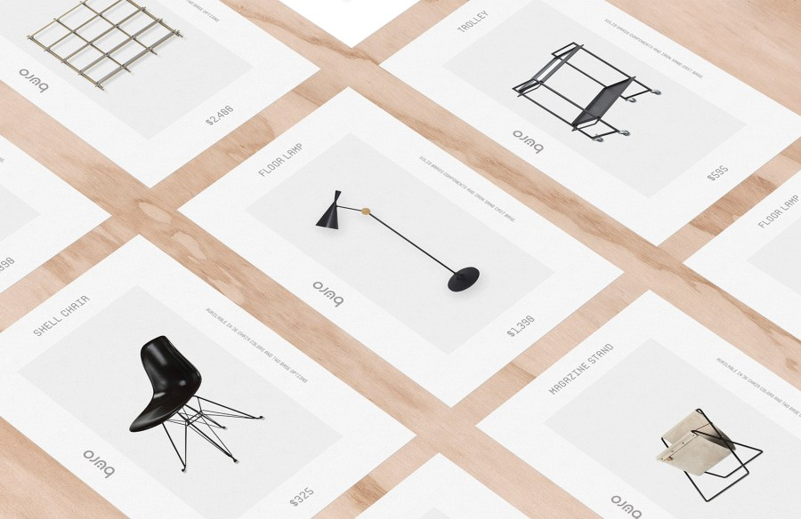 Furniture Visual Identity Design