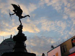 ©Claudia Bonollo, Cupido, Londra, Piccadilly Circus