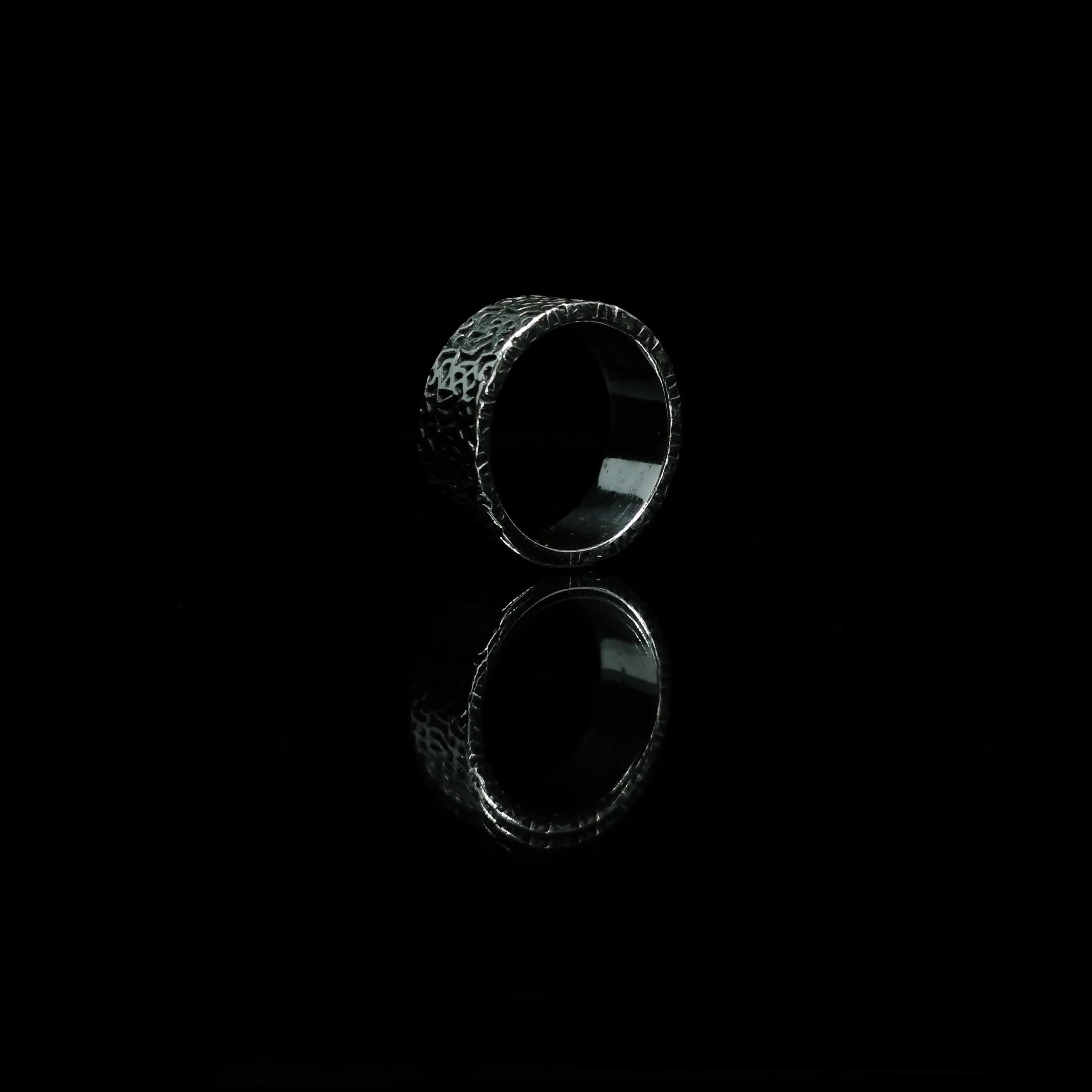 BRANS - handcrafted silver jewelry - Lava Burst ring