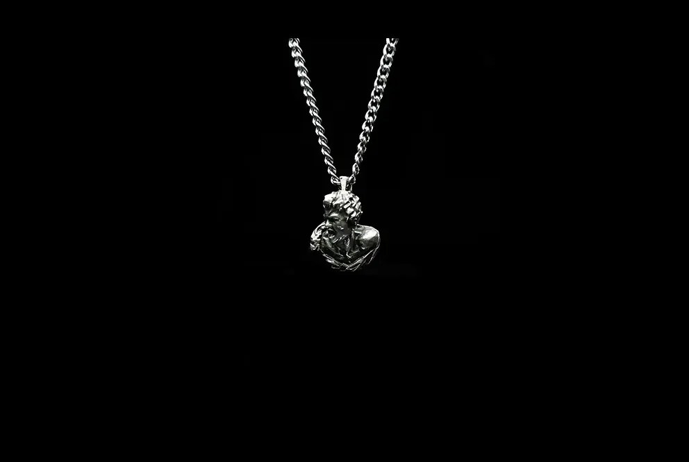 BRANS - handcrafted silver jewelry - pendant