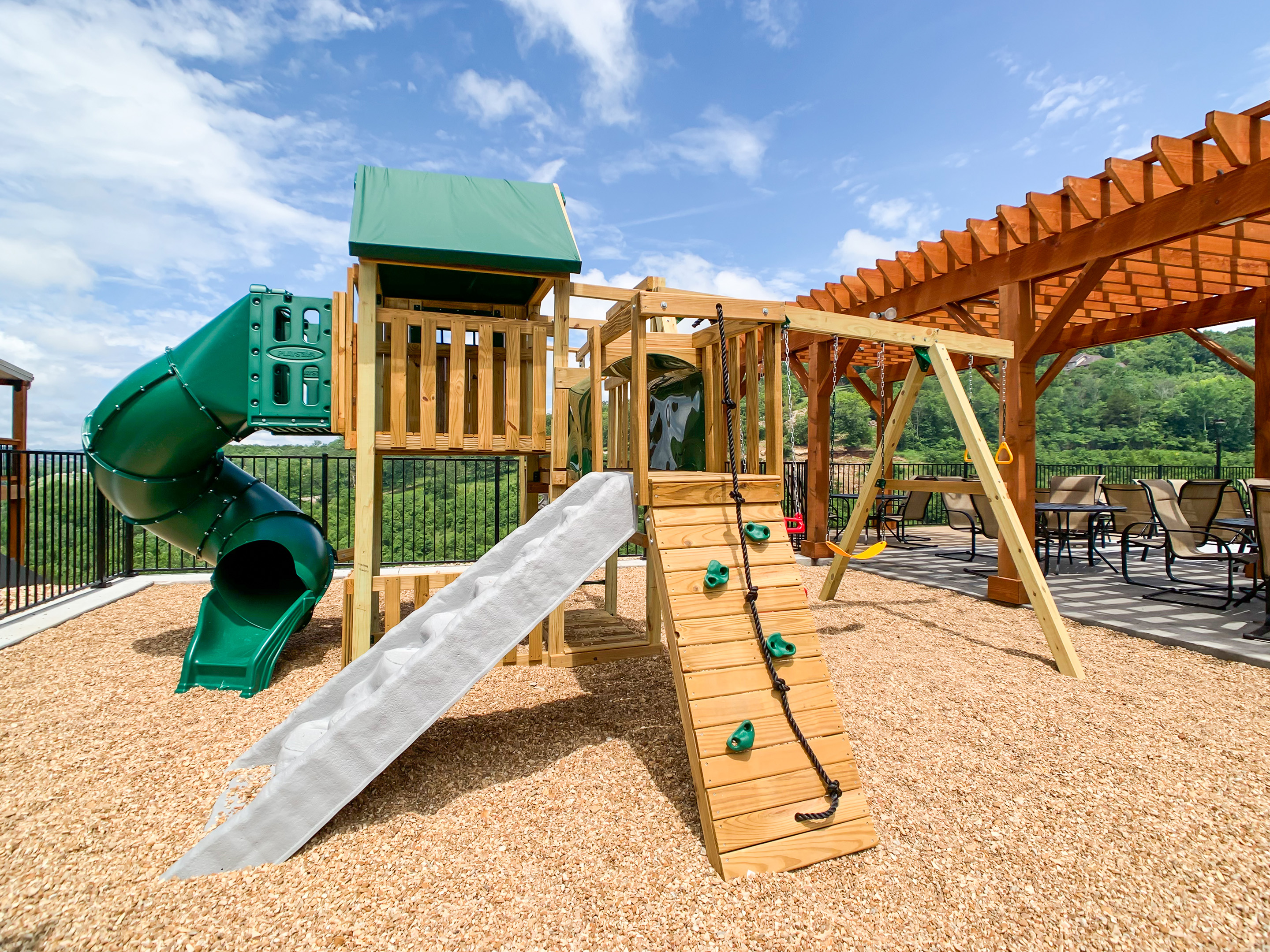Chateau Cove Playground, Table Rock Lake, Branson, Missouri