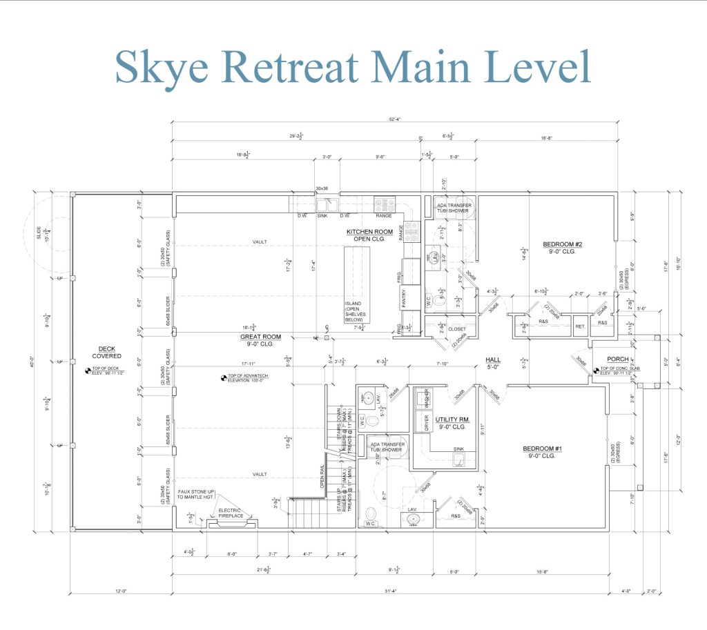 Skye Retreat Main Level