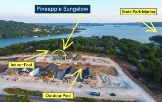 Branson Cove aerial view July 2020
