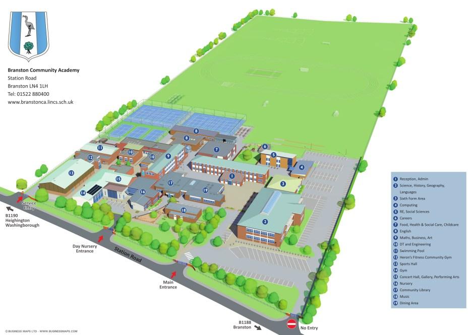 3D Site Map