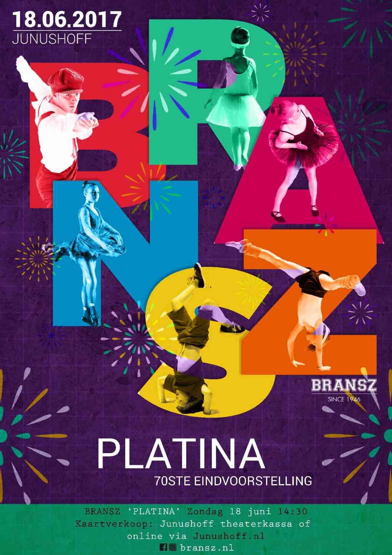 'Platina', de 70ste voorstelling! 18 juni 2017