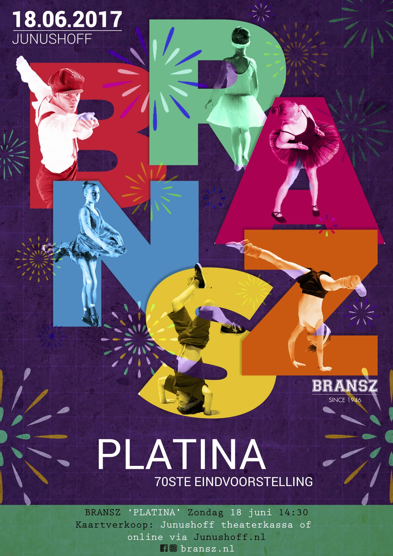 Aftellen tot de voorstelling 'Platina'