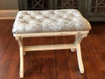 DIY Tufted Stool Makeover