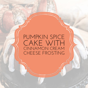 IMG 7125 - Pumpkin Spice Cake with Cream Cheese Frosting