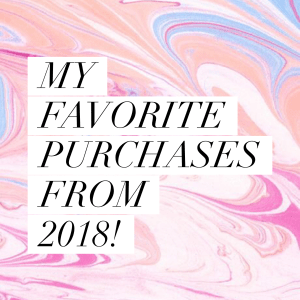 IMG 0608 - Favorite Purchases from 2018!