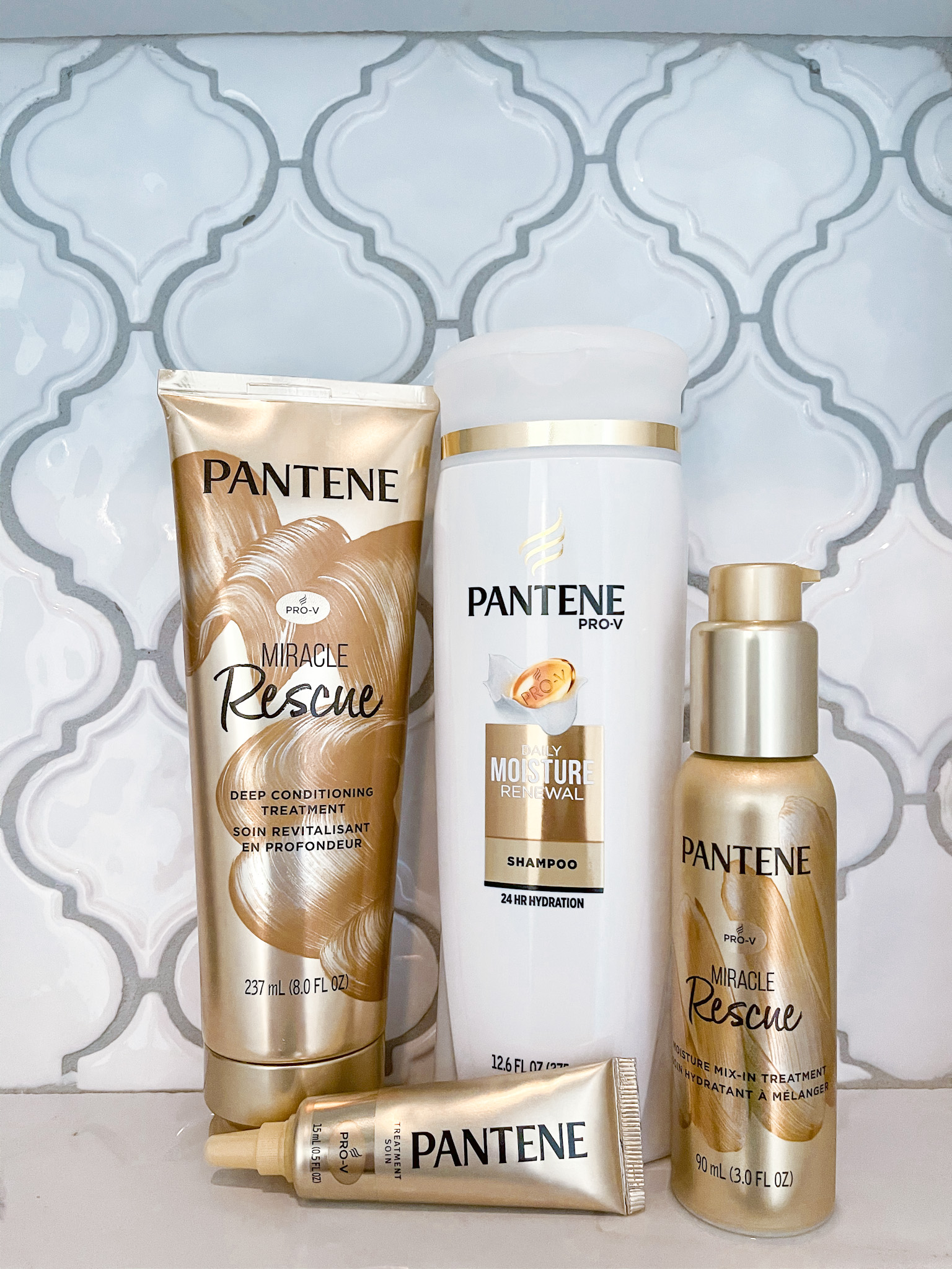 IMG 6380 - Pantene Pro-V Miracle Rescue Collection