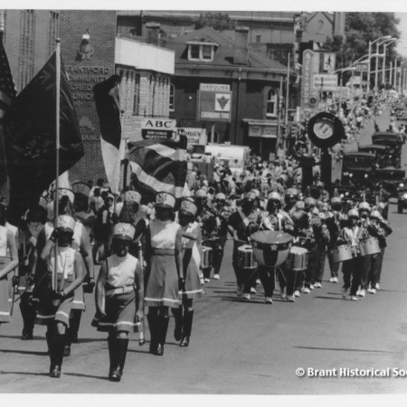 Brantford Centennial Parade 1977
