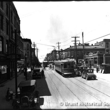 Colborne and Market Streets, c. 1927