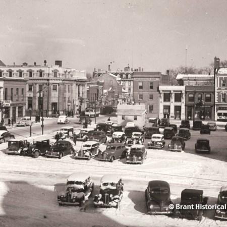 Downtown Brantford c. 1940