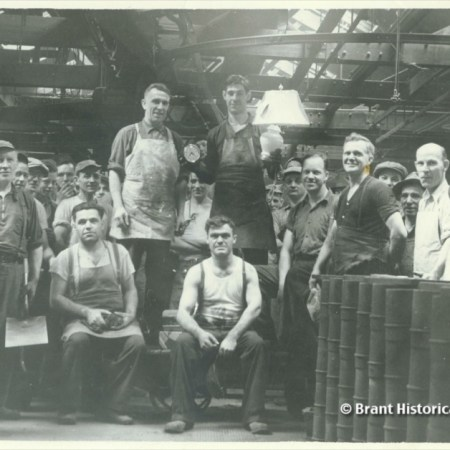 Foundry or Moulding Shop at Cockshutt's, c 1941
