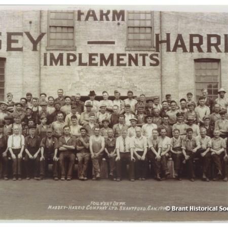 Massey-Harris Foundry Department, c. 1941