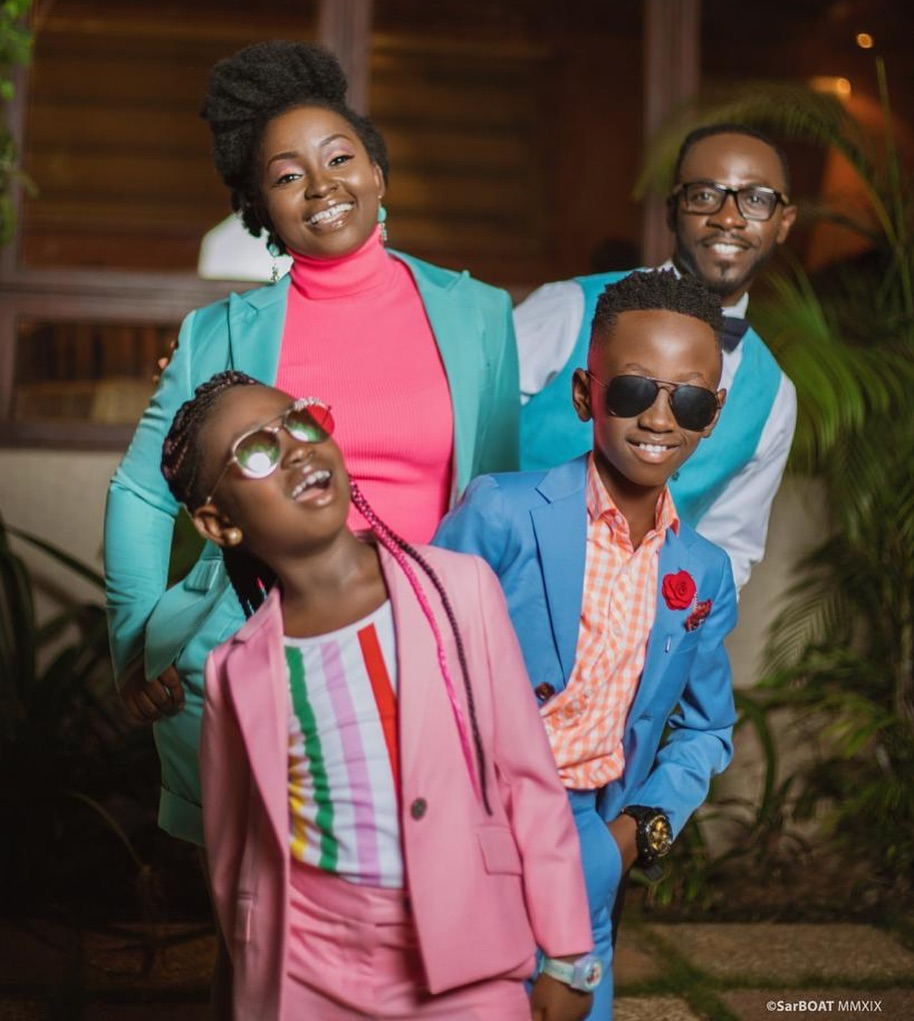 These photos of Okyeame Kwame & his family are giving us family & fashion  goals   Bra Perucci Africa